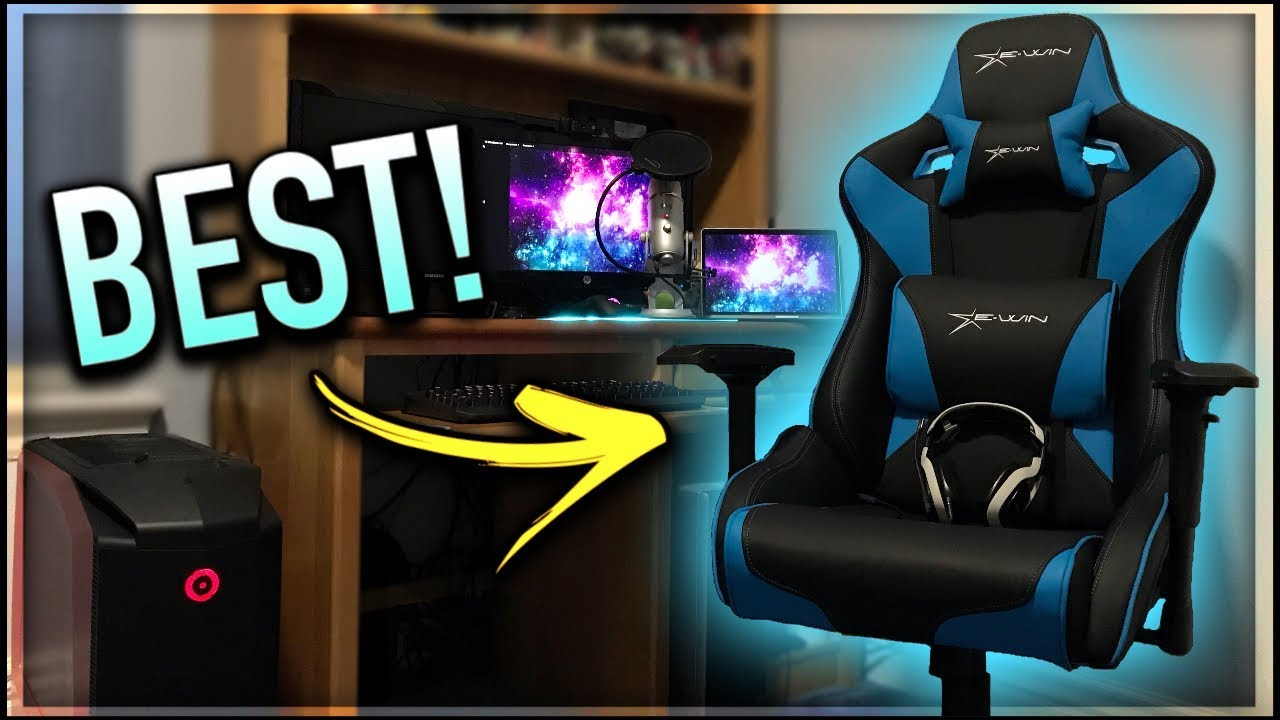 The BEST Gaming Chair for 2018!! (Unboxing + Review) - YouTube