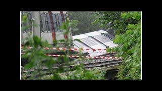 RER B : trafic interrompu après un déraillement, 7 blessés légers