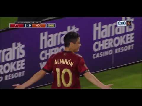 Miguel Almiron First Half of Season 2017   Goals, Skills, Assists