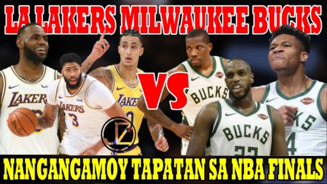 Los Angeles LAKERS vs Milwaukee BUCKS | Nangangamoy ...