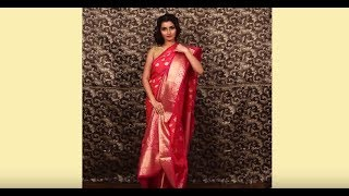 Bengali Saree Draping Styles by Indian Silk House Exclusives