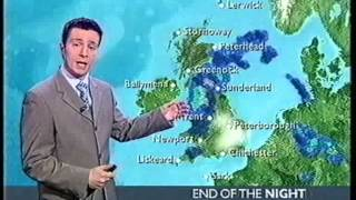 Repeat youtube video BBC Weather 15th April 2005
