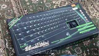 Razer Blackwidow Ultimate Keyboard UNBOXING I انبوكسنق كيبورد ريزر