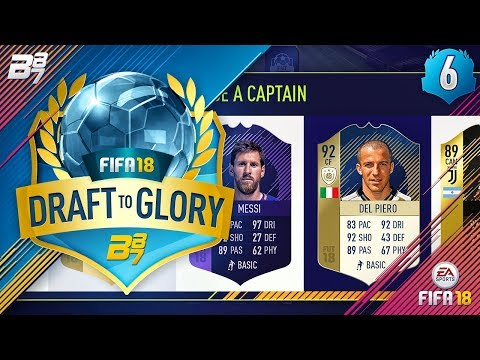 DRAFT TO GLORY! MY FAVOURITE ICON! #6 | FIFA 18 ULTIMATE TEAM