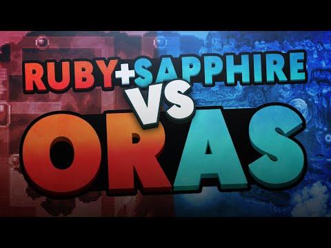 Pokemon Ruby and Sapphire vs Pokemon Omega Ruby and Alpha Sapphire (ft. Eryizo)