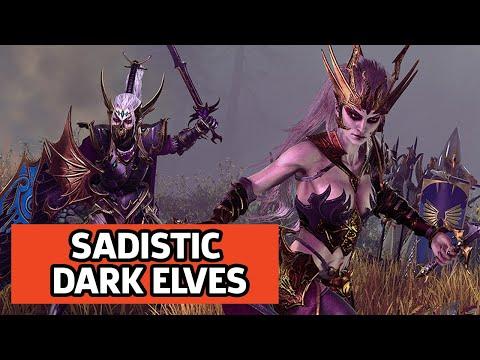 Dark Elves Destroyer Quest Battle Gameplay - Total War: Warhammer 2
