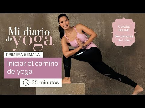 Mi Diario de Yoga: semana 1 (35 minutos)