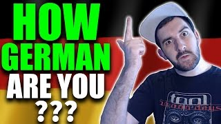 HOW GERMAN ARE YOU? | Take 'The German Quiz'! | VlogDave