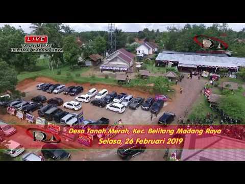 "Desa Tanah Merah dilihat dari udara,  ""Acara Syukuran Pelantikan Kades Tanah Merah, BMR"" 26/02/2019"