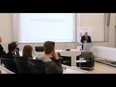 ESMT Open Lecture: Why Leadership Character Makes the Difference for Thriving Companies