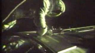 Apollo 17 deep space EVA