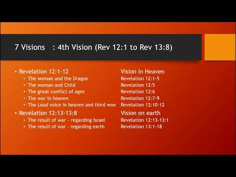 Revelation Overview study 6: 4th vision