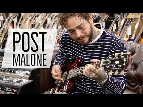 Post Malone at Norman's Rare Guitars |...