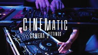 Кіношні налаштування Камери | settings Cinematic