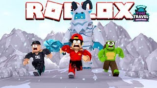 ROBLOX - HOW TO SURVIVE THE SCARIEST ICE YETI EVER!!!