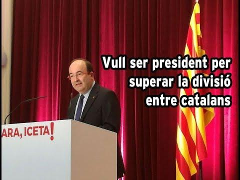 Vull ser president per superar la divisió entre catalans