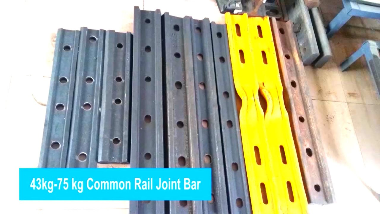 Rail Joints and Railway Fish Plate for sale --Over 30 types of quality  joint bar in stock