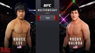 Bruce Lee Vs Rocky Balboa - EA SPORTS TV