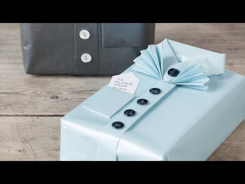 DIY : Gift wrapping idea by Søstrene Grene