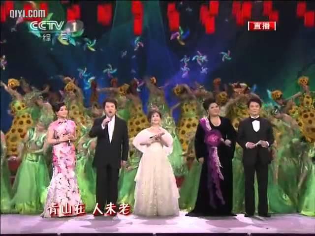2011 央视春节联欢晚会 歌曲 《 难忘今宵 》 李谷一 CCTV春晚