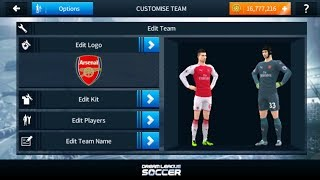 How to import logo and kits in Dream League Soccer 2018