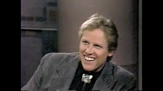 Gary Busey Collection on Letterman, 1983-92