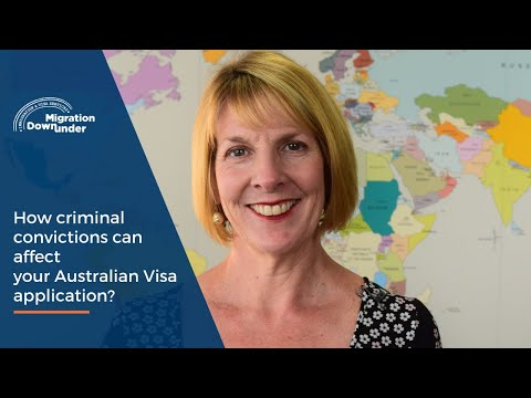 How can criminal convictions affect your Australian visa