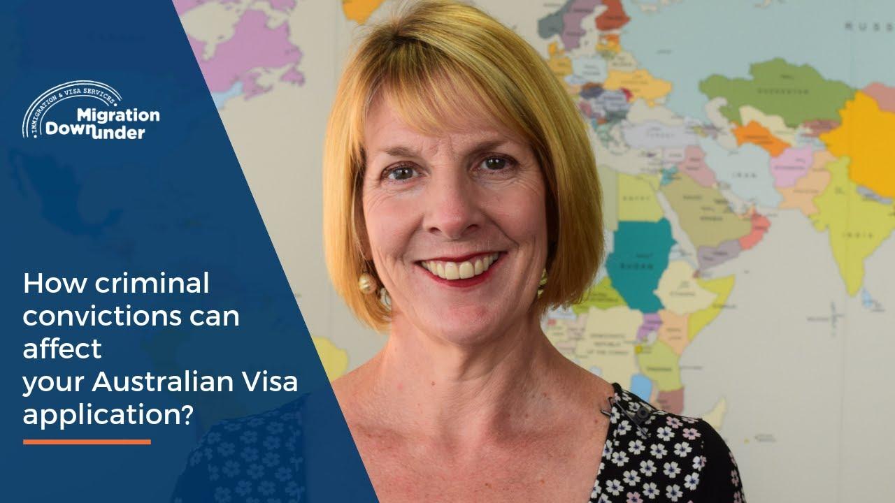 How can criminal convictions affect your Australian visa