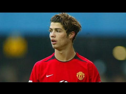 Young Cristiano Ronaldo | unstoppable dribbling and skilful moves