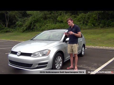 Review: 2015 Volkswagen Golf Sportwagen TSI