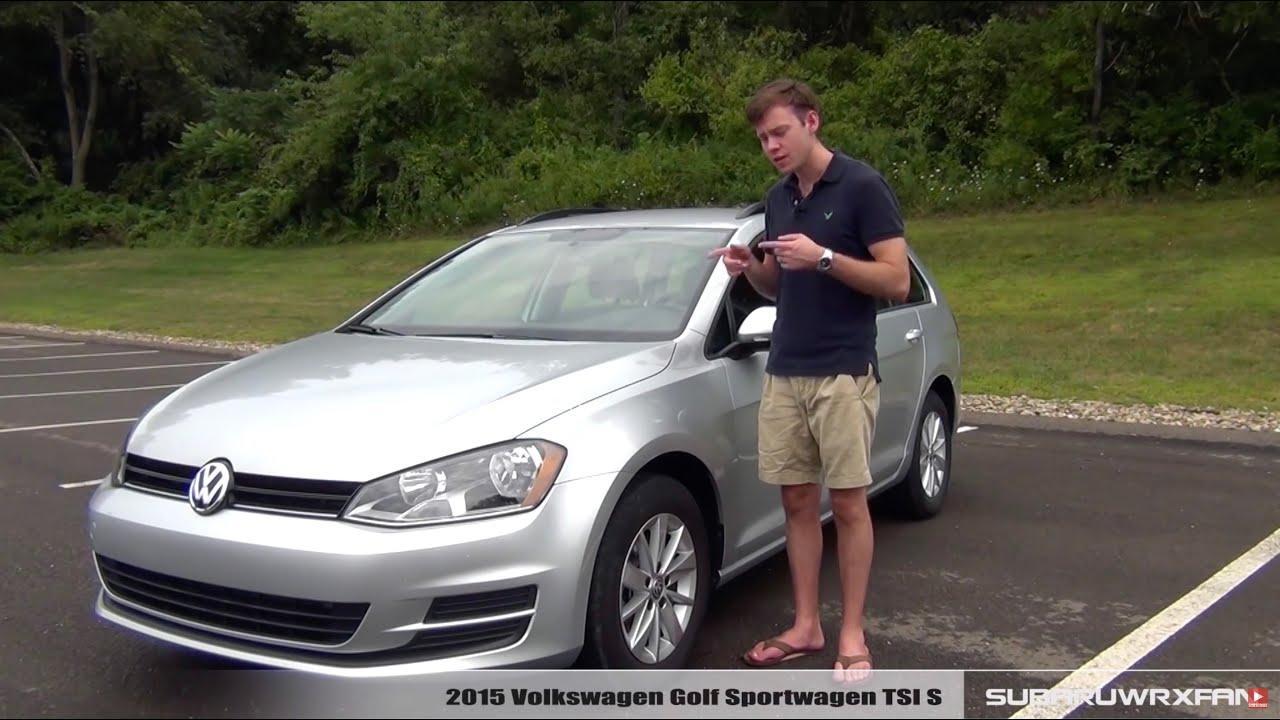 review: 2015 volkswagen golf sportwagen tsi - youtube