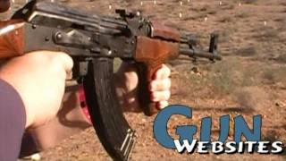 Shooting Full Auto AK47 @ Big Sandy