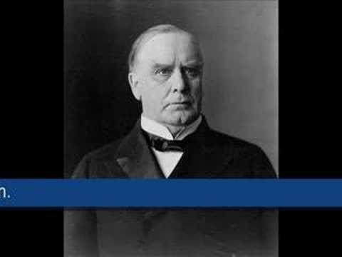 William McKinley - 1896 campaign speech