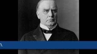 William McKinley - 1896 campaign speech