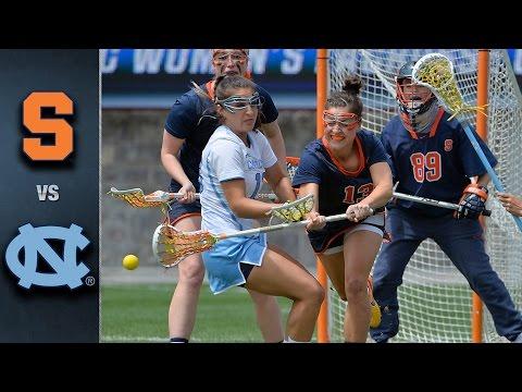 Syracuse vs. North Carolina ACC Women