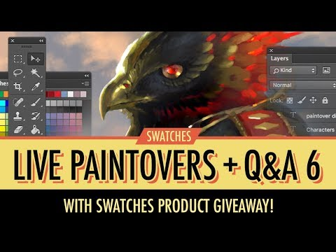 Livestream No. 6 - Submission & Portfolio Reviews, Paintovers, Q&A