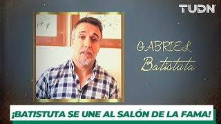 Gabriel Batistuta, el goleador, clase 2019 del Salón de la Fama | TUDN