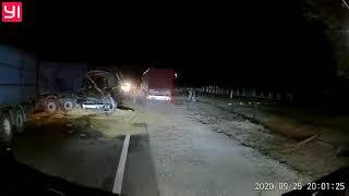 Видео ДТП и дороги Николаева и области: трасса Н-11, Виноградовка