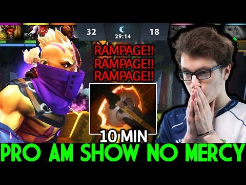 Miracle [Anti Mage] Pro AM Shows No Mercy 10 Min Battle Fury 7.22 Dota 2