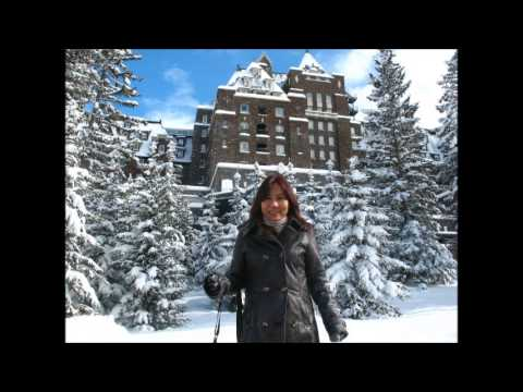 A Business Meeting with Margie at Banff Springs, Alberta Canada