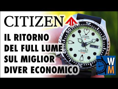"""Citizen Promaster NY0040-09W """"Full Lume"""", La Recensione Del Miglior Diver Economico"""