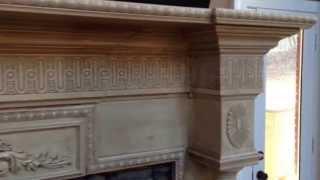 The Franklin Mantel - Custom Built Fireplace Mantels
