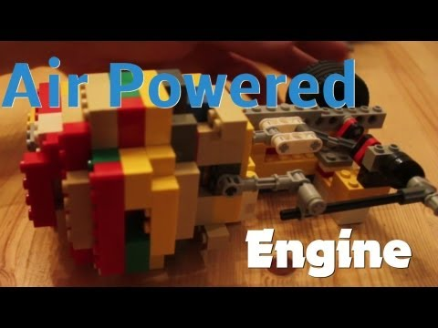 Working Lego Air Engine