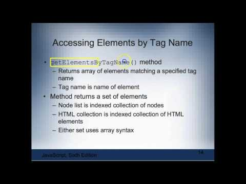 Chapter 5: Working with the Document Object Model & DHTML