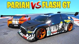VAPID FLASH GT  vs PARIAH | TEST DE VELOCIDAD con COCHES de GTA 5 ONLINE (Deportivos)