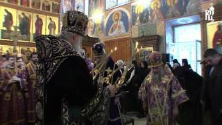 Патриарх Кирилл совершил литургию в Хотьково(11 марта 2012 года, в неделю 2-ю Великого поста, день памяти святителя Григория Паламы, архиепископа Фессалонит..., 2012-03-13T06:31:19.000Z)