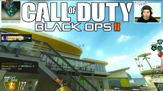 Black Ops 2: Noob Training! - NUKE-TOWN DESTRUCTION! w/Vikkstar123! - (BO2 Live) - #15