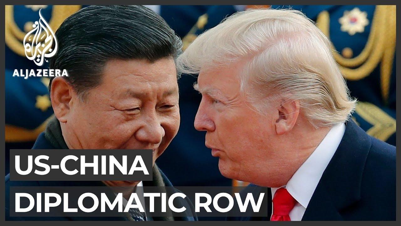 Trump hints at closure of more Chinese consulates as China fumes - Al Jazeera English