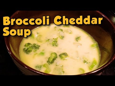 Broccoli Cheddar Soup Recipe & Review