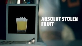 Absolut Stolen Fruit Drink Recipe - How To Mix